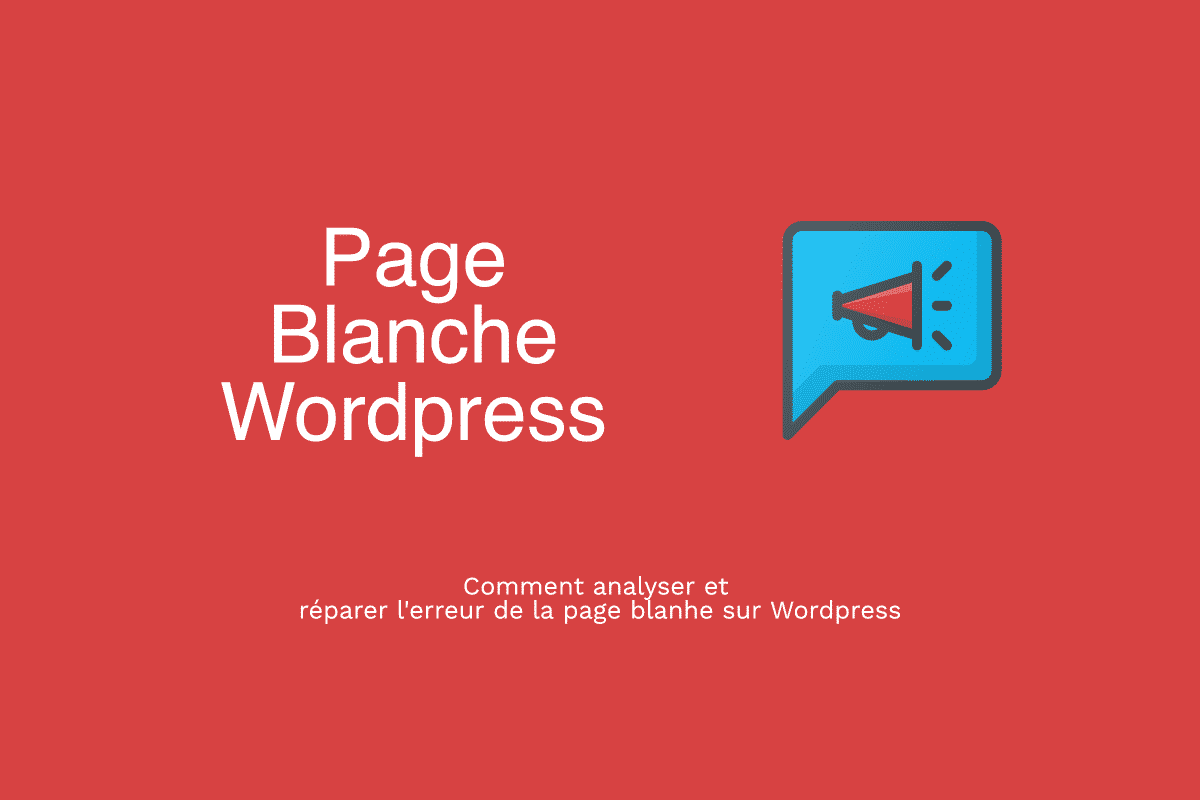 page-blanche-wordpress