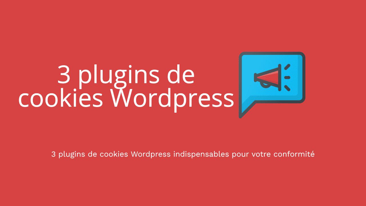 plugin de cookie rgpd wordpress
